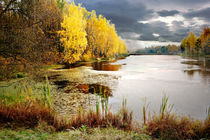 Autumn at the lake von Yuri Hope
