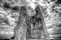 Hadleigh Castle by David Pyatt
