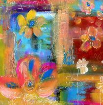 shabby chic flowers von claudiag