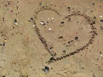 Heart on the Beach - Herz am Strand 2 by detiart