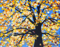 Softly Falling Autumn Leaves by Kume Bryant