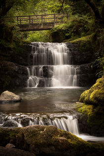 Sychryd Cascades and Waterfall by Leighton Collins