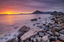Spectacular sunset at the Elgol beach, Isle of Skye, Scotland by Sara Winter