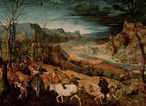 Die Rückkehr der Herde  von Pieter Brueghel the Elder