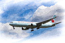 Air Canada Boeing 767 Art von David Pyatt