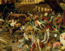 Der Triumph des Todes von Pieter Brueghel the Elder