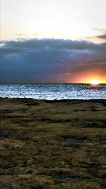 Sunset in Hawai'i von Amber D Hathaway Photography
