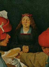Bauernhochzeit  by Pieter Brueghel the Elder