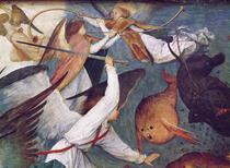 Der Fall der Rebel Angels von Pieter Brueghel the Elder