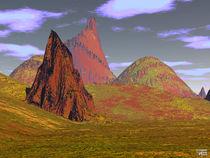 Entartete Berge von Norbert Hergl