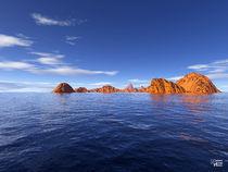 Blue Sea 01 by Norbert Hergl