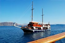 The boat trip around the Cyclades. Greece by Yuri Hope