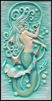 Meerjungfrau von Paul Wiese