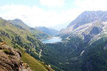 Marmolada/Marmolata & Lago Fedaia/Fedaia-See von Philipp Tillmann