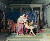 Paris und Helena  von Jacques Louis David