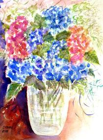 Hortensienblumenstrauß von Irina Usova