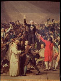 Die Ballhausschwur von Jacques Louis David
