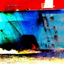 blue ship II von ursfoto