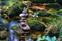 Zen Steinturm - Zen stone tower by Thomas Klee