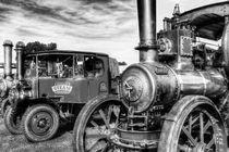 Steam Lorry And Traction Engine von David Pyatt