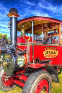 Foden Steam Lorry by David Pyatt