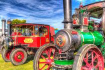 Traction Engine and Steam Lorry von David Pyatt