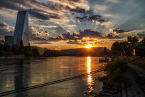 Roche-Turm mit Sonnenaufgang	 by photoactive