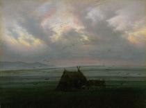 Nebelschwaden von Caspar David Friedrich
