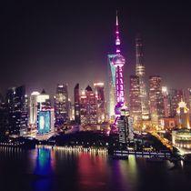 Shanghai Skyline Bund  von Jay  Speiden