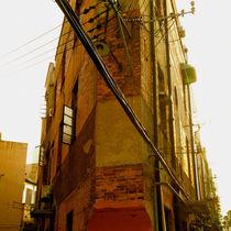 Building Wedge in a Shanghai Alleyway by Jay  Speiden