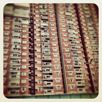 Shanghai Apartment Block von Jay  Speiden