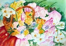 Magnolienblumenstrauß by Irina Usova