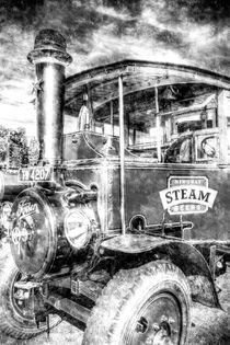Foden Steam Lorry Vintage von David Pyatt