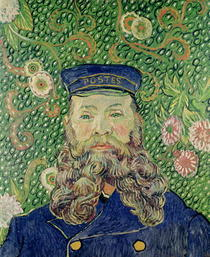Porträt des Briefträgers Joseph Roulin by Vincent Van Gogh