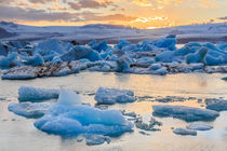 Jökulsárlón Glacier Lagoon von Christine Büchler