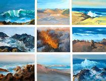 Landschaft Malerei - Kanarische Inseln_Impressionen von Geert Bordich
