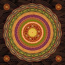 Mandala Embrace von Peter  Awax
