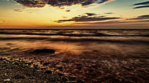 Ostseeabend von Sandro Mischuda