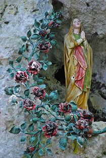 Madonna im Fels... von loewenherz-artwork