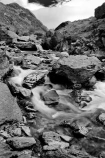 A stream in Snowdonia von David Hare