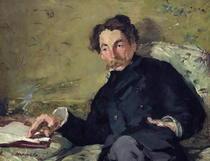 Stéphane Mallarmé  by Edouard Manet