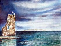 Wachturm im Meer  von Irina Usova