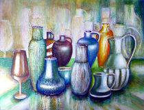 Stillleben mit Keramik von Irina Usova