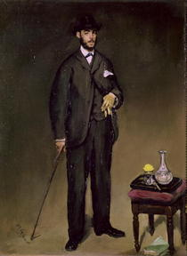 Theodore Duret  by Edouard Manet