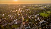 Kleinstadt aus der Luft von Dennis Stracke
