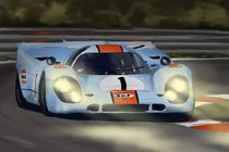 Gulf Porsche 917 by rdesign