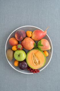 Obst auf einem Teller von Elisabeth Cölfen