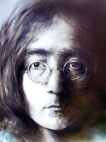 Portrait Malerei - John Lennon_Musiker von Geert Bordich