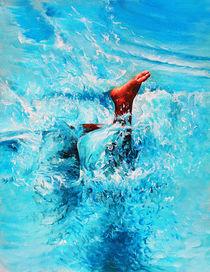 Menschen Malerei - Another Splash by Geert Bordich