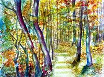 Sommerwald von Irina Usova